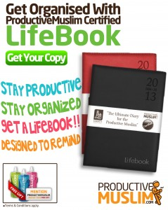 How to Get Organised With a Lifebook! - Productive Muslim