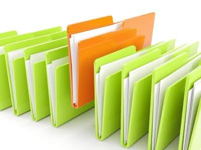 istock green folders  std