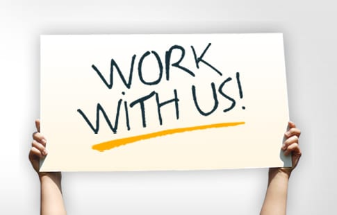 work with us we are hiring