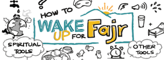 Doodle of the Month: How to Wake up for Fajr!