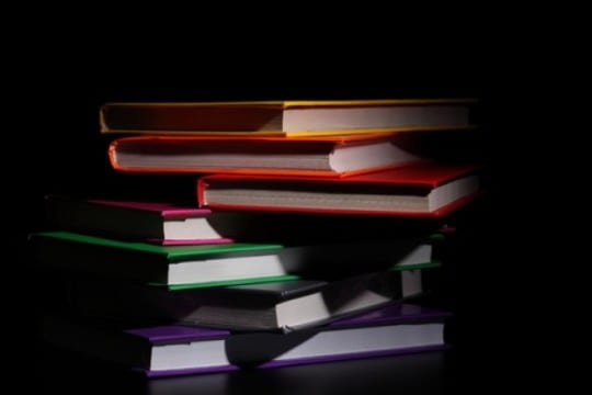 black background read knowledge education