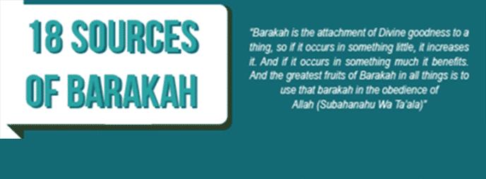 SourcesofBarakah|ProductiveMuslim