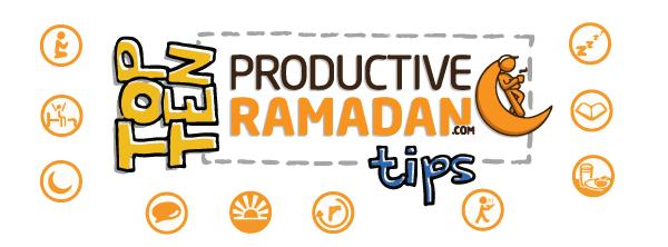 Doodle of the Month [June]:Top Ten Tips to ProductiveRamadan! | ProductiveMuslim