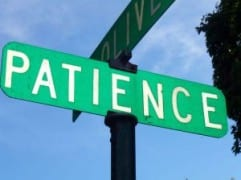 Patience and Productivity During Times of Hardship