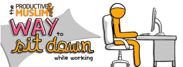 [October Doodle] Productive Muslim Way to Sit Down | ProductiveMuslim