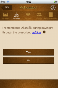 "Islamic/Muslim iPhone app ""Muhasabah"" review - Productive Muslim"