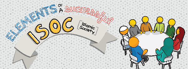 [Doodle of the Month] Elements of a Successful Students' Islamic Society | ProductiveMuslim