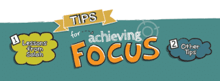 [ProductiveMuslim Doodle] Productive Muslim Tips for Achieving Focus