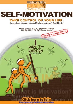 Self Motivation Poster