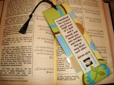 Bookmark peace