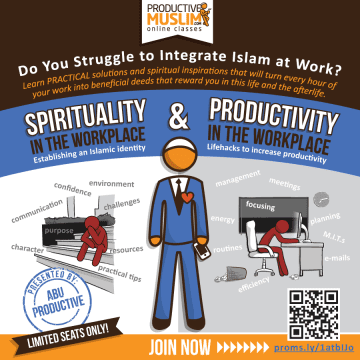 Click here to join this class on Spirituality and Productivity at Work.