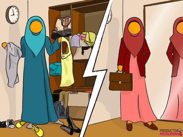 Top 5 Productive Muslimah Wardrobe Hacks | Productive Muslim