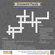 [Brain Teaser] Productivity Crossword Puzzle