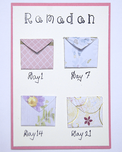 [Tutorial] DIY Ramadan Weekly Reminders | Productive Muslim