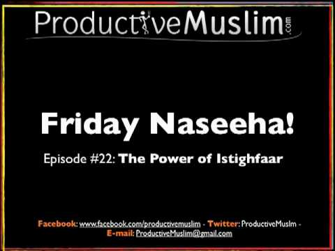 episode  the power of istighfa