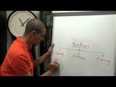 productive ramadan tip  routine
