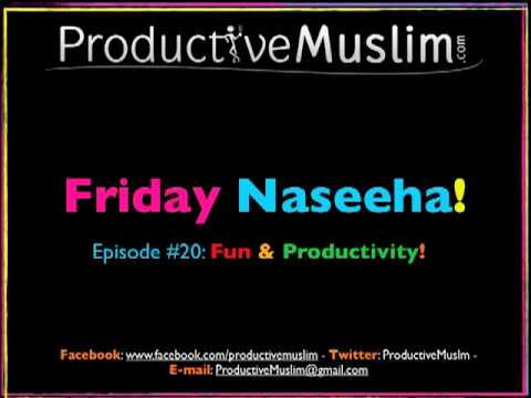 weekly naseeha episode  fun pr