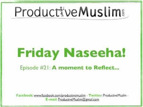 weekly naseeha episode  a mome