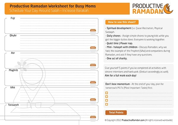 The Ultimate Ramadan Tools Review: Worksheets, Planners, Apps and ...