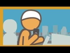 ProductiveMuslim Animation: It's NOT productive to text and drive!