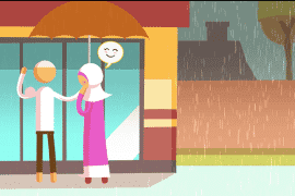 [Animation – Episode 5] Habits of Happy Productive Muslim Couples: They Never Lose Focus of Each Other's Needs