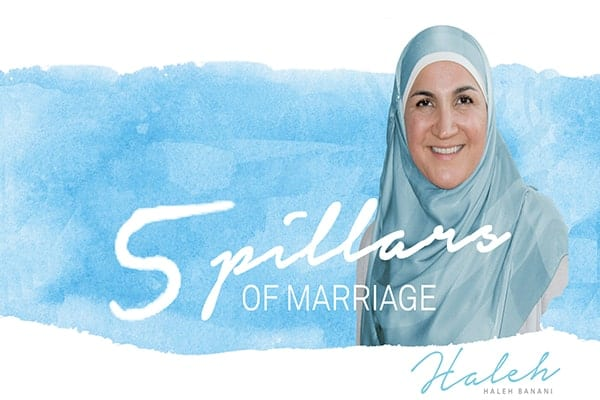 5 Pillars Of Marriage