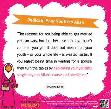 Dedicate Your Youth to Allah | Inspirational Islamic Quotes on Productivity | Productive Muslim