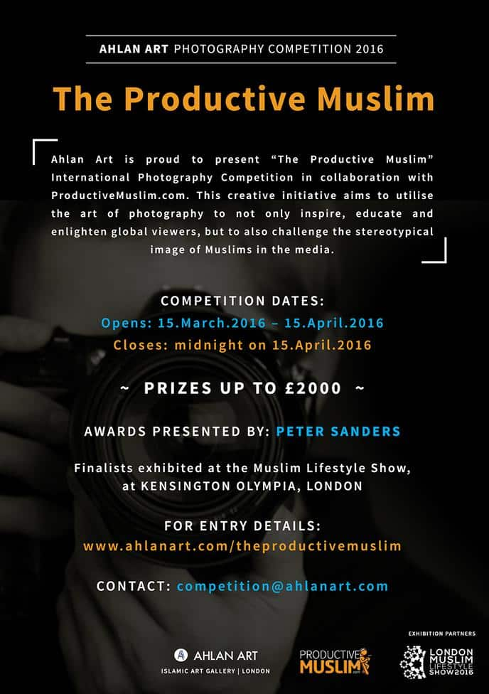 """The Productive Muslim"" International Photography Competition 