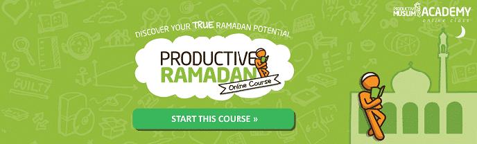 Productive Muslim Academy Ramadan Online Course