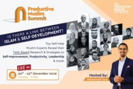 Announcing: The First Ever ProductiveMuslim® Summit, December 2016