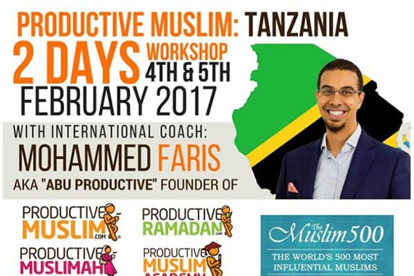 ProductiveMuslimEastAfricaTour+BookLaunch(February)|ProductiveMuslim