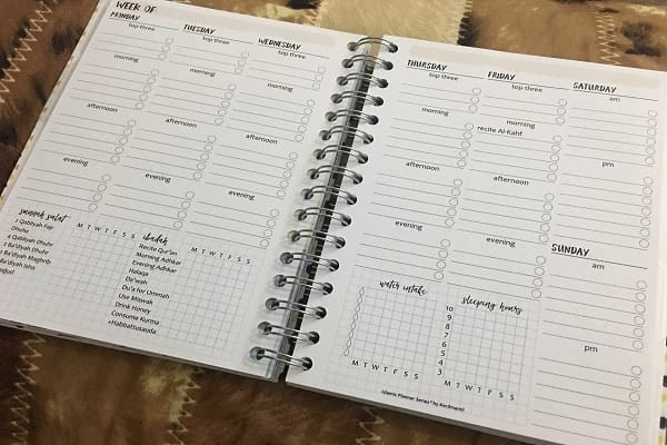 Productivity Tool Muslima Planner 2017 ¦ Productive Muslim