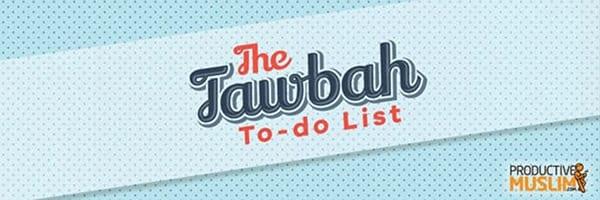 [DoodleoftheMonth]YourTawbahTo DoList:ActionPointsforaFreshStart|ProductiveMuslim