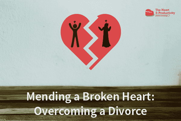 Mending A Broken Heart Overcoming A Divorce Productivemuslimcom