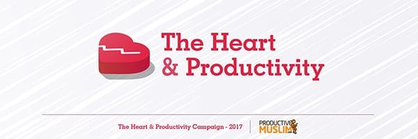 [Doodle of the Month] The Heart and Productivity | ProductiveMuslim