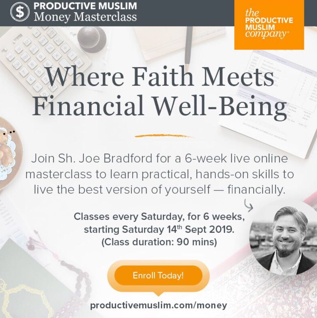 ProductiveMuslim Money Masterclass