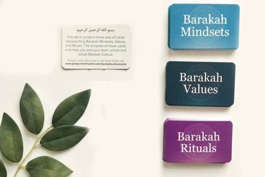 Introducing The Barakah Culture Cards: Your Practical Guide to the Mindsets, Values & Rituals of Barakah Culture