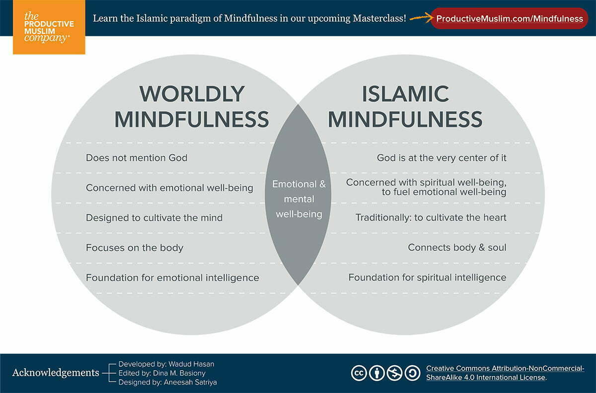 What is Mindfulness and Spiritual intelligence: An Islamic Framework | ProductiveMuslim