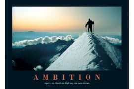 Reconciling Contentment versus Ambition
